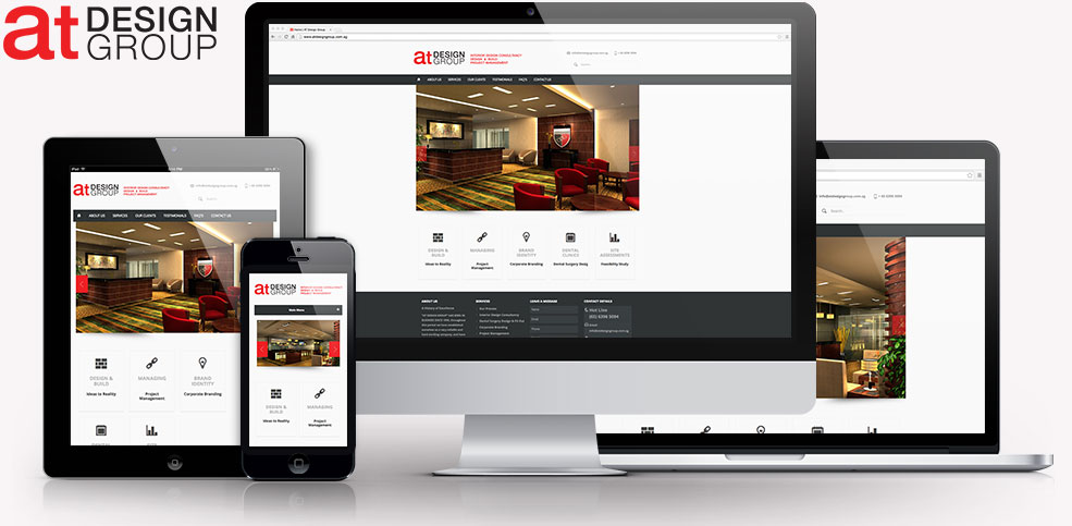 at Design Group Responsive Website