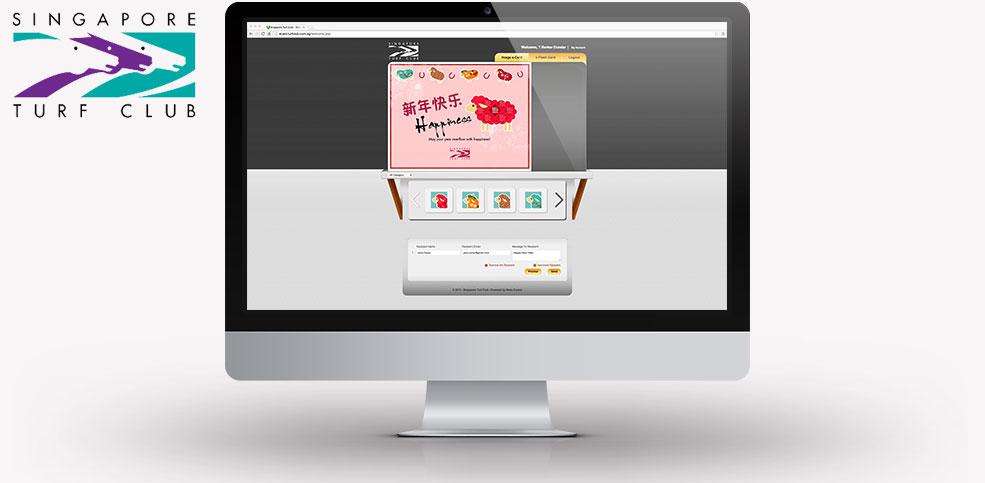 Turf Club e-Card Website