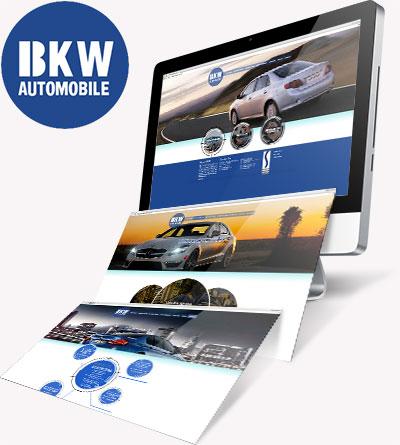BKW Automobile Responsive Web
