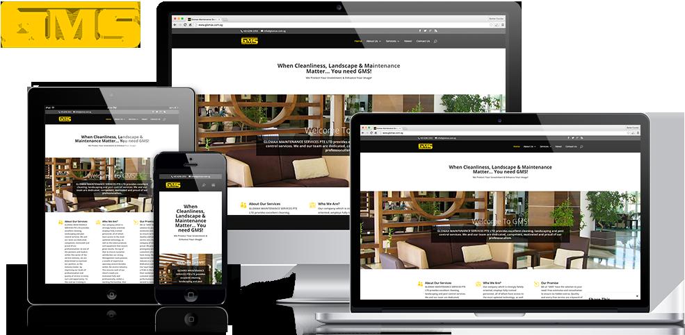GMS Responsive Web